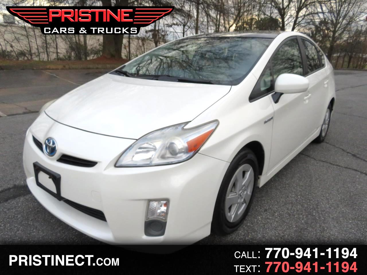 2010 Toyota Prius 5dr HB Pruis Four Panaramic Roof Leather Navigatio