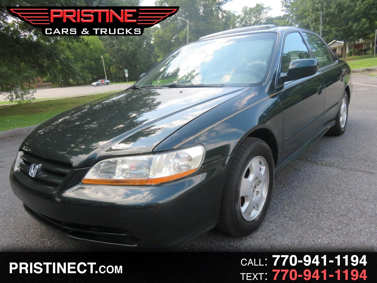 2002 Honda Accord Sdn EX Auto V6 w/Leather