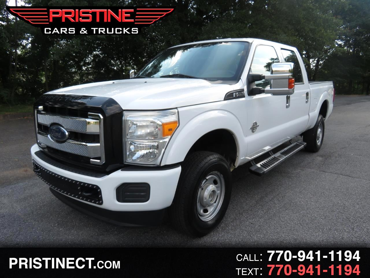 2013 Ford Super Duty F-350 SRW 4WD Crew Cab 172 XL 8 Cylinder Engine Turbo Diesel
