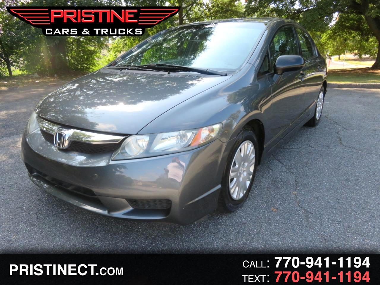 2010 Honda Civic Sdn 4dr Auto DX-VP