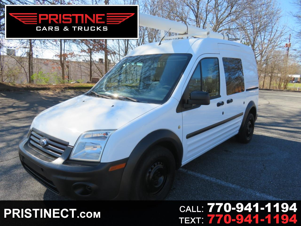 """Ford Transit Connect 114.6"""" XL w/side & rear door privacy glass 2011"""