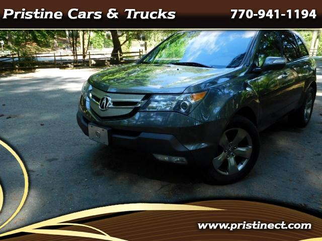 2007 Acura MDX MDX AWD Sport + Entertainment Pkg  Navigation