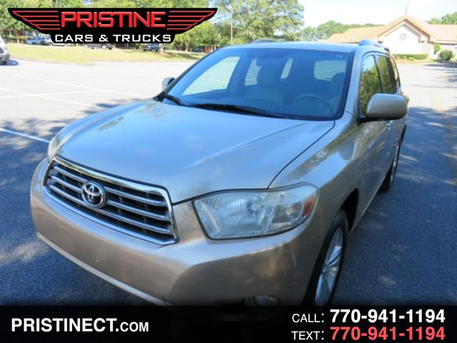 2009 Toyota Highlander Limited FWD V6 With Third Row Seats