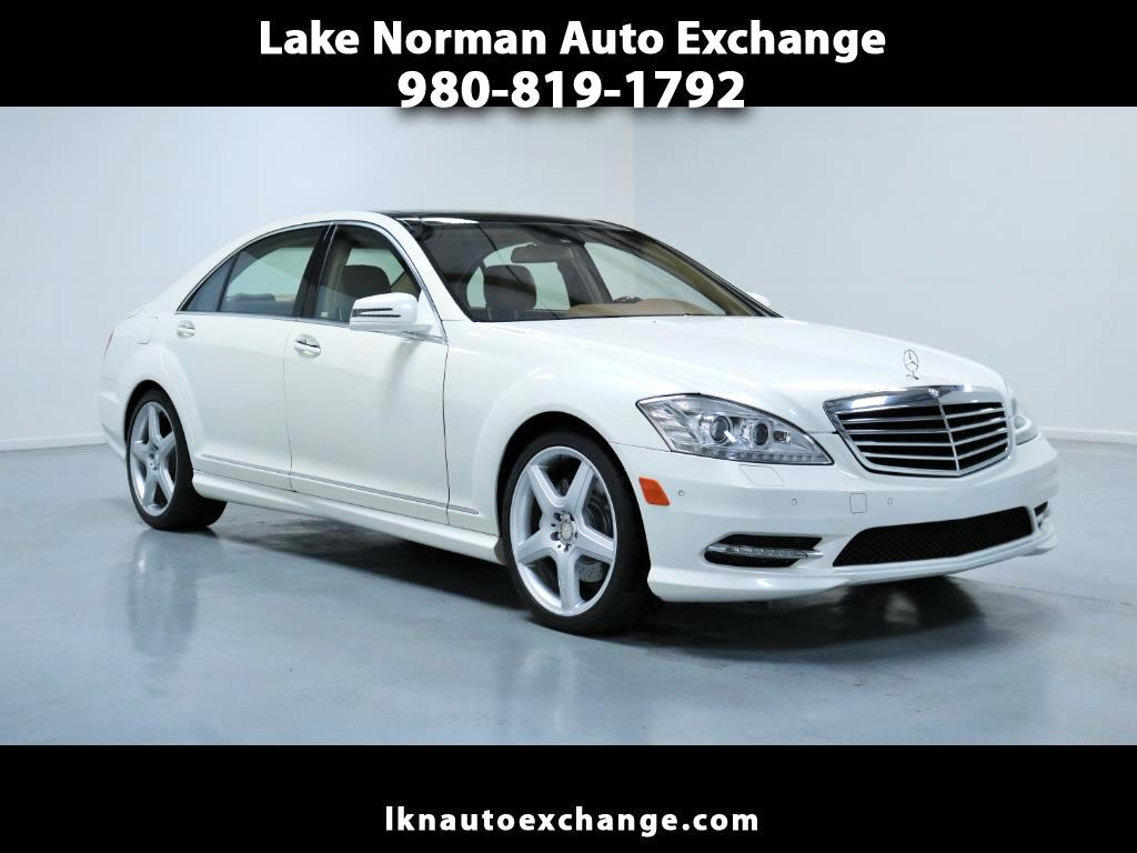 2011 Mercedes-Benz S-Class 4dr Sdn S 550 RWD