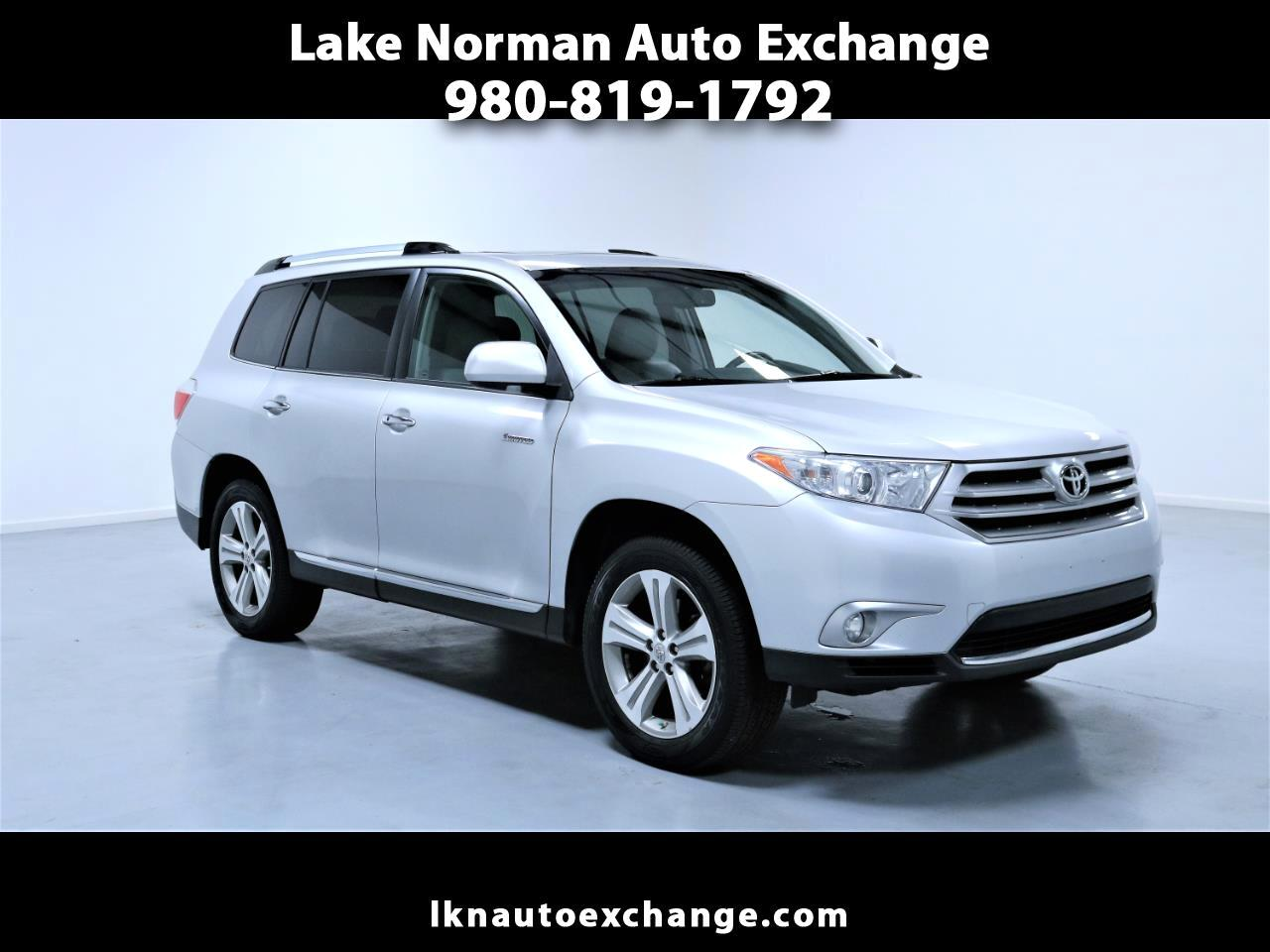 2012 Toyota Highlander 4dr V6 4WD Limited w/3rd Row (Natl)