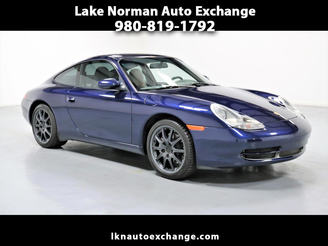 2001 Porsche 911 Carrera 2dr Carrera 4 Cpe 6-Spd Manual