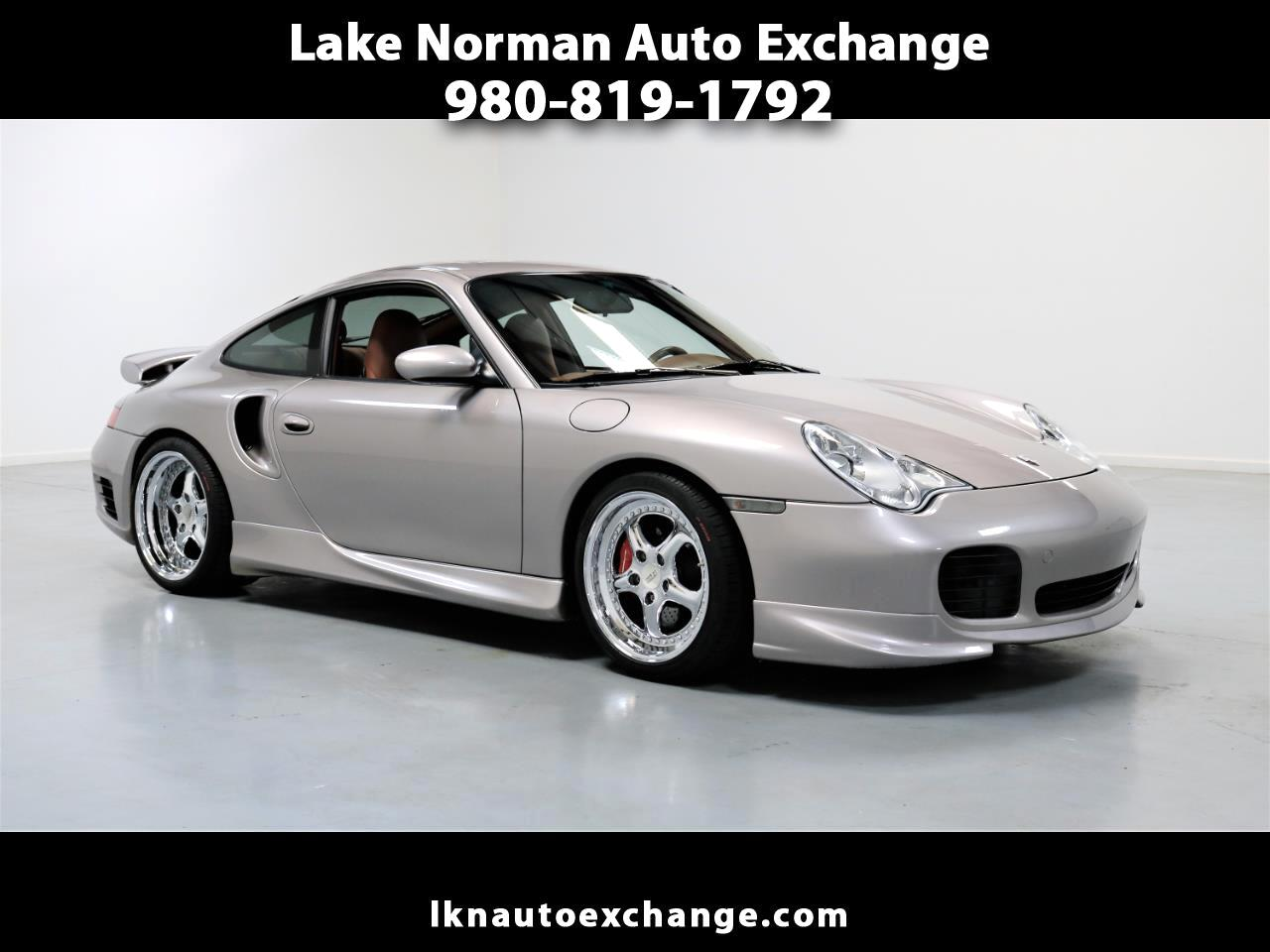 2001 Porsche 911 Carrera 2dr Carrera Turbo 6-Spd Manual