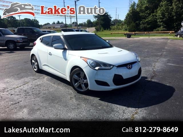 2012 Hyundai Veloster 3dr Cpe Man w/Gray Int
