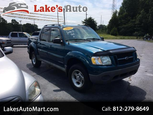 "2002 Ford Explorer Sport Trac 4dr 126"" WB 4WD Value Manual"