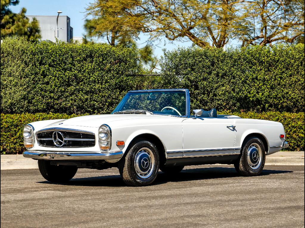 1969 Mercedes-Benz 280SL 4 Speed