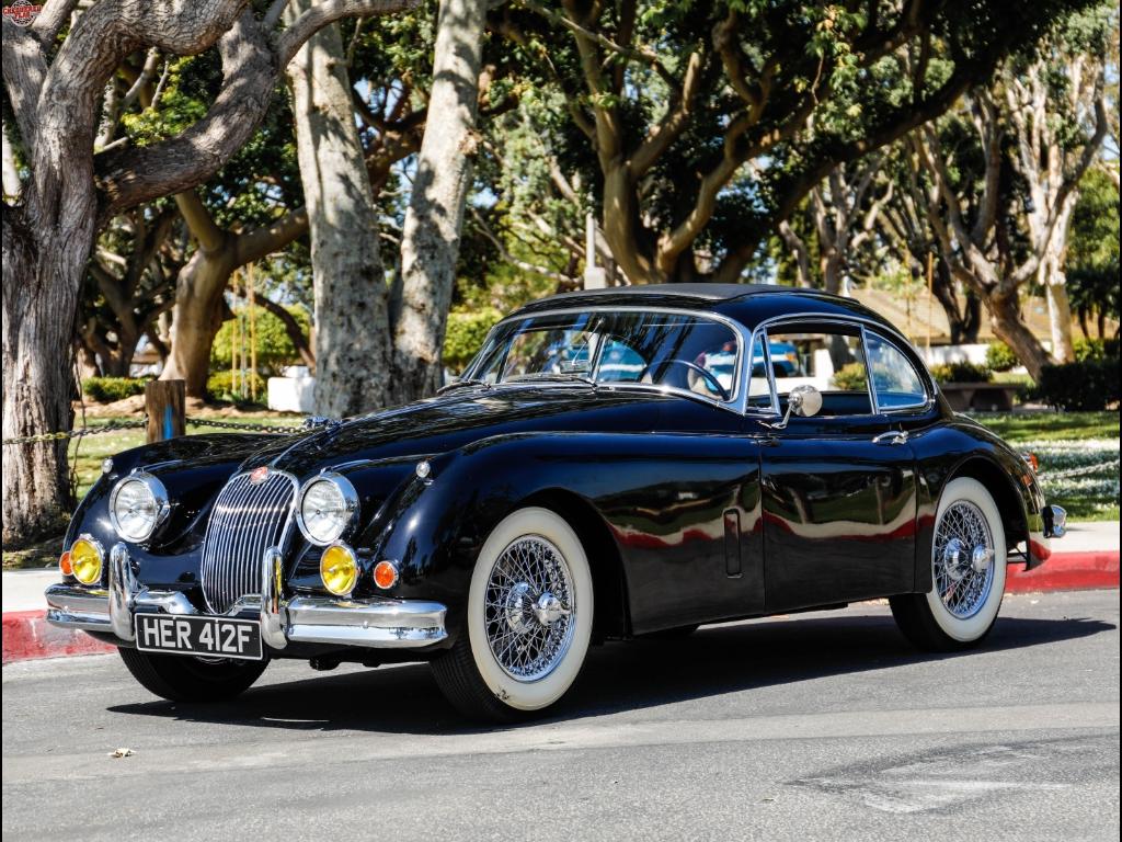 1960 Jaguar XK 150 Coupe