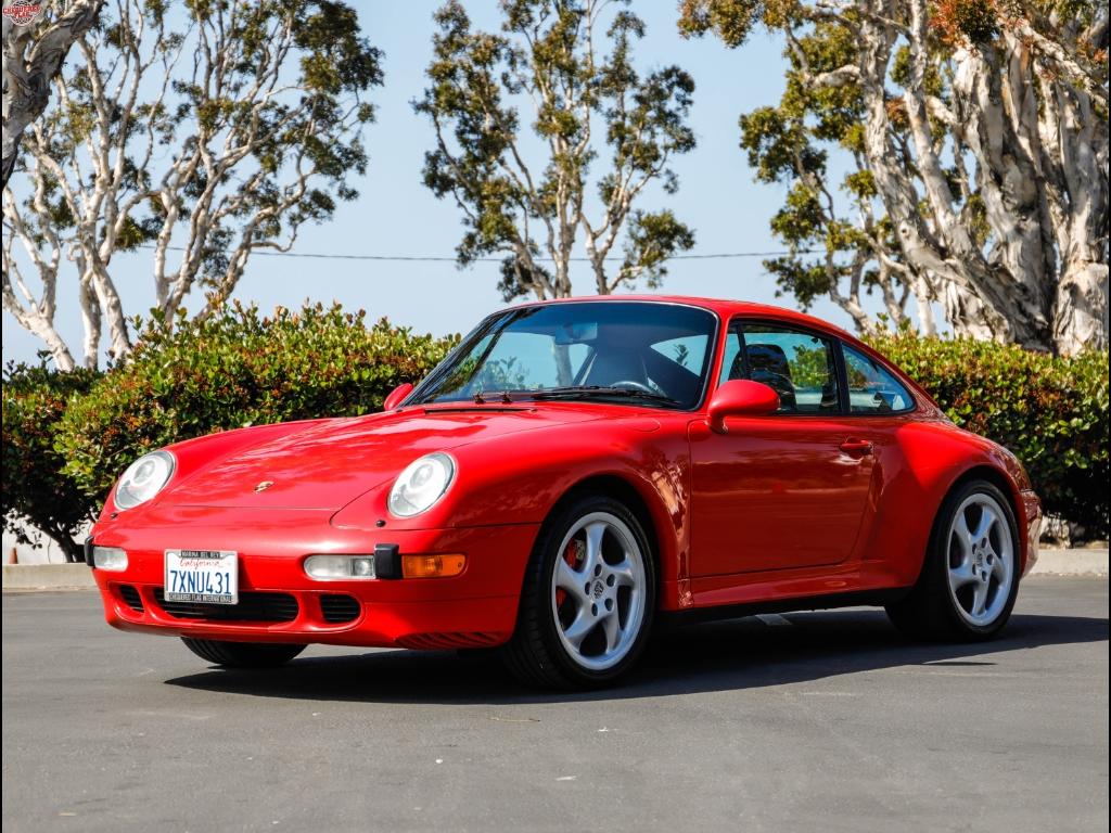 1997 Porsche C4S Coupe