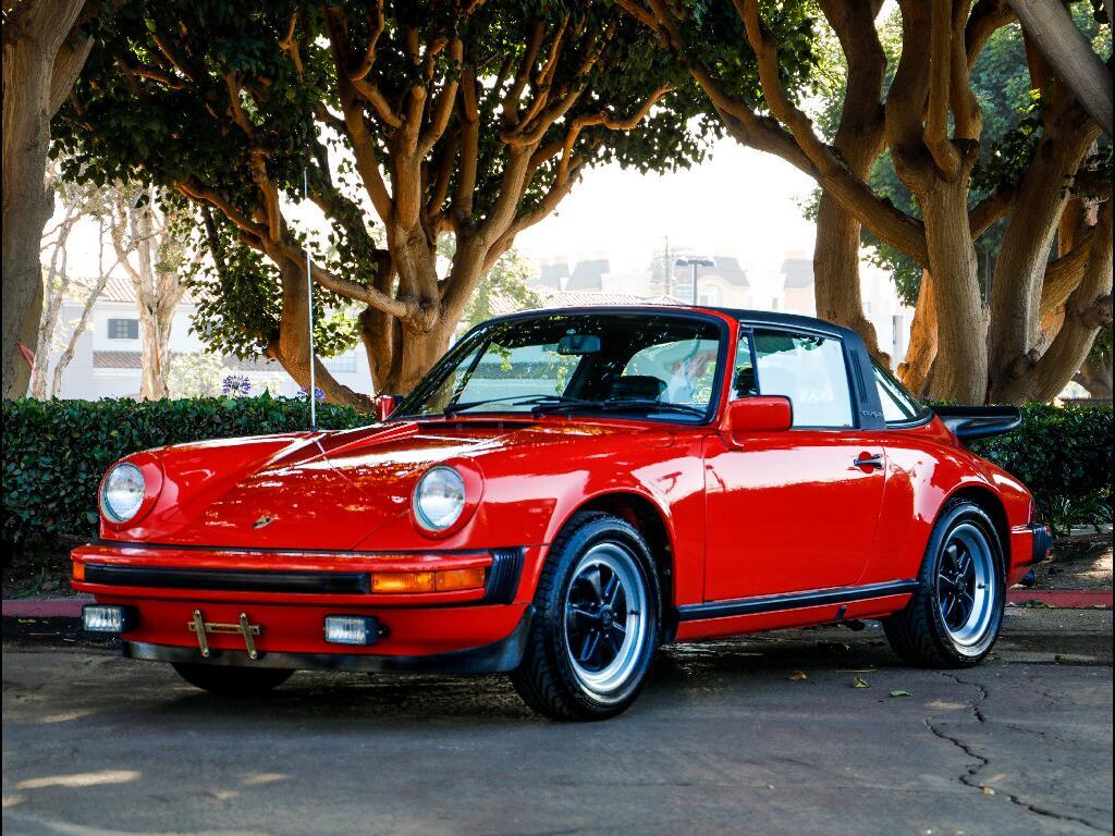 1981 Porsche 911 SC Targa
