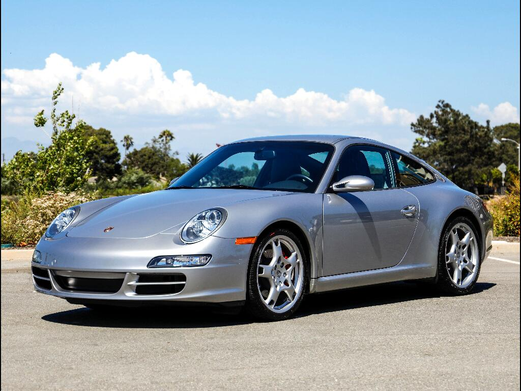 2008 Porsche 911 Carrera 2dr Carrera S Cpe 6-Spd Manual