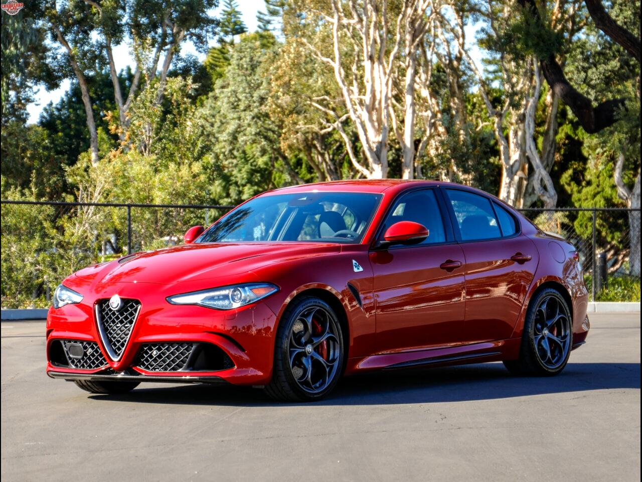 Alfa Romeo Giulia Quadrifoglio RWD 2017