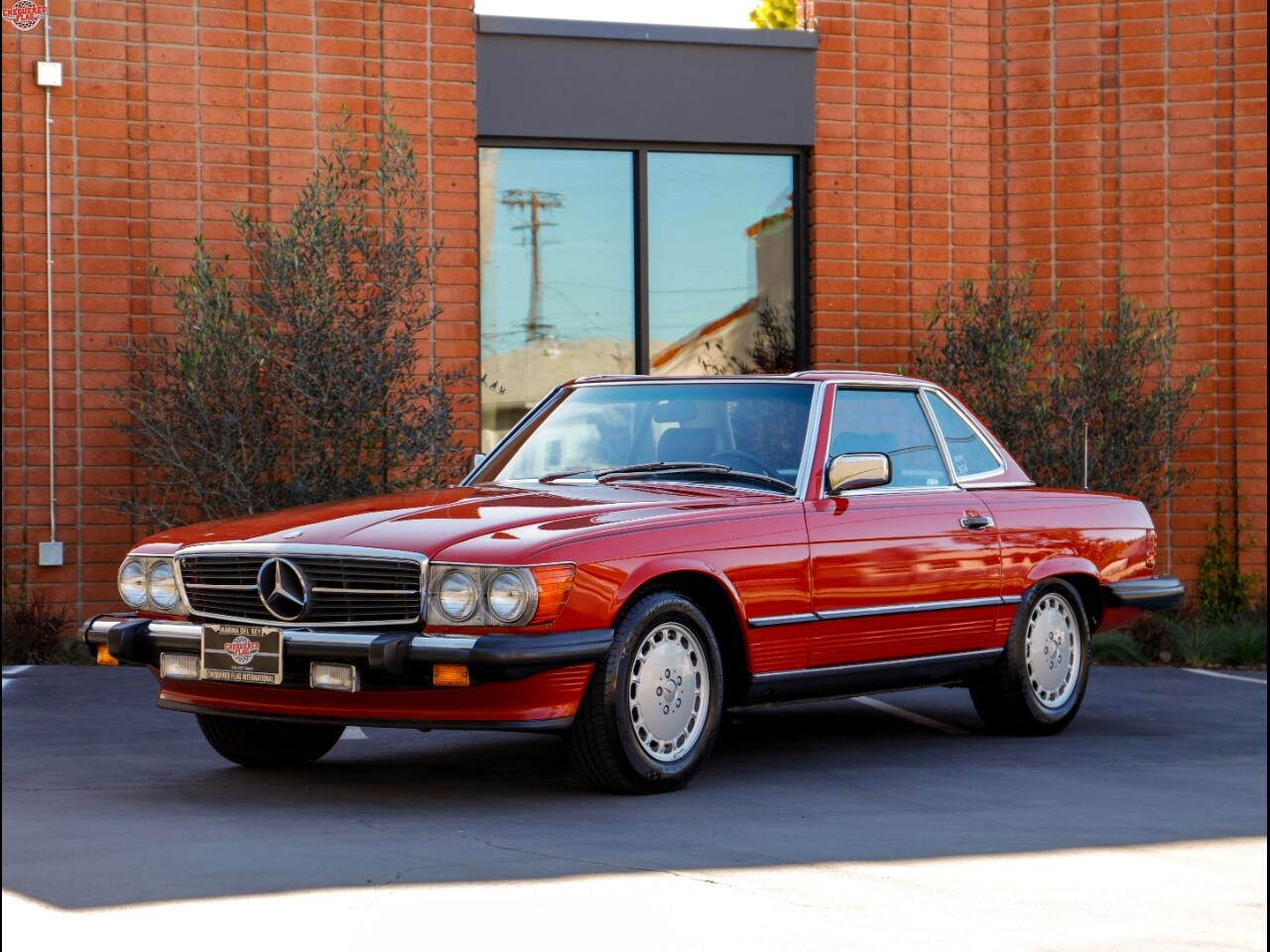 1989 Mercedes-Benz 560 Series 2dr Coupe 560SL Roadster