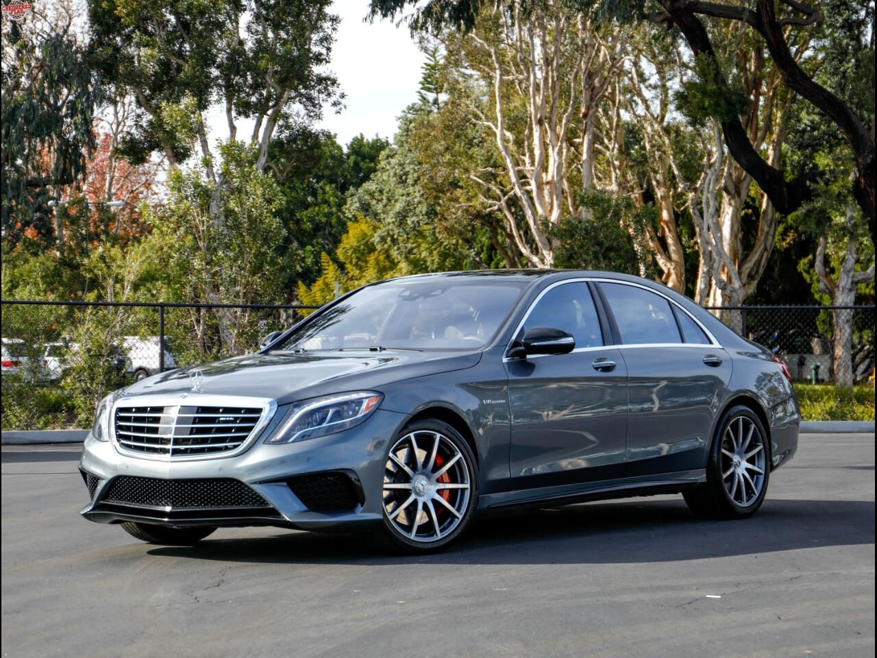 2017 Mercedes-Benz S63 AMG 4Matic