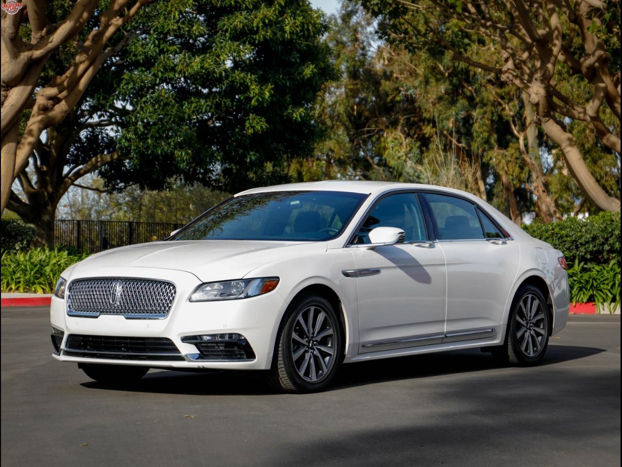 2017 Lincoln Continental Premiere AWD