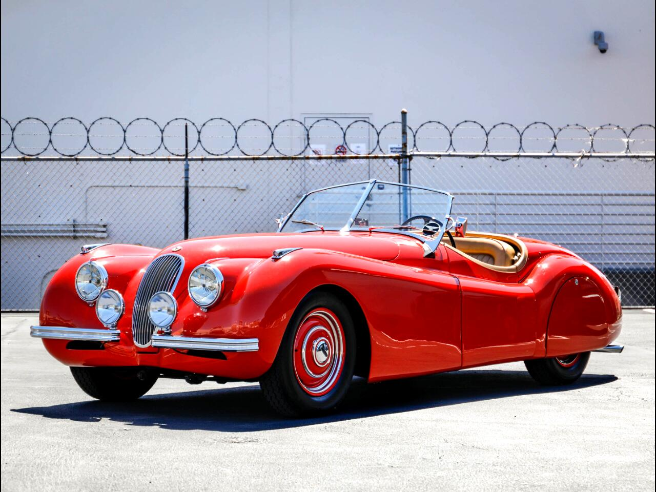1950 Jaguar XK 120 Alloy