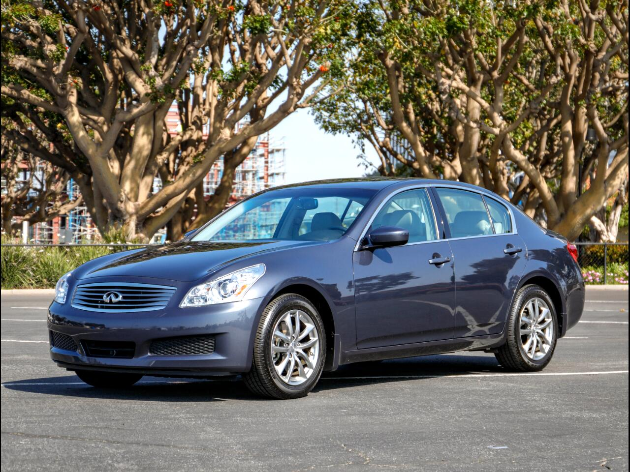 2009 Infiniti G37X With Navigation Sedan