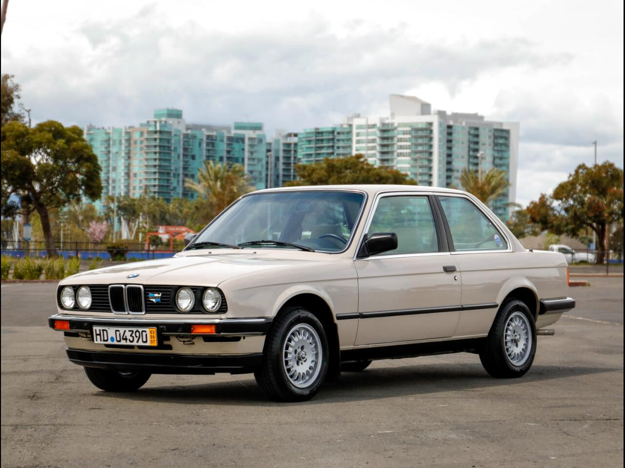 1985 BMW 325e 2 Door Coupe