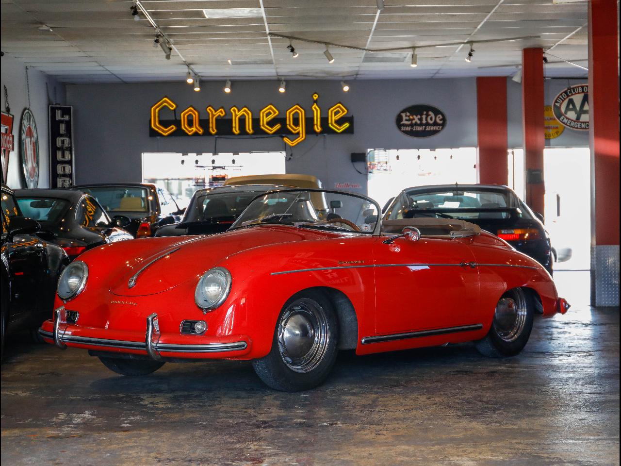 1956 Porsche Speedster 356 A