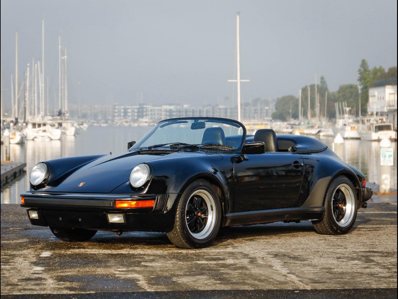 1989 Porsche 911 Speedster Convertible
