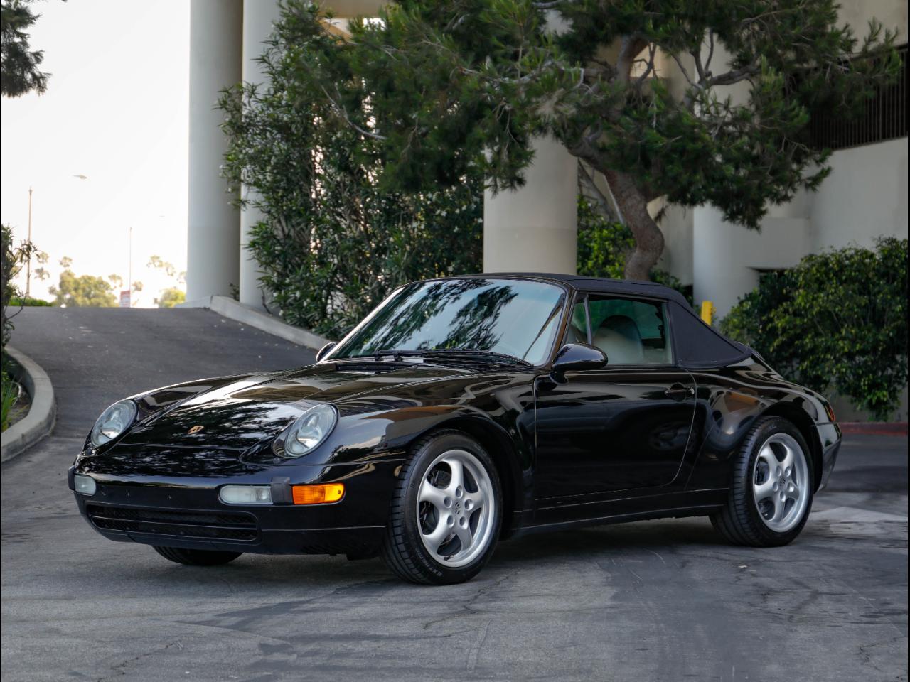 1997 Porsche 993 C2 Cabriolet
