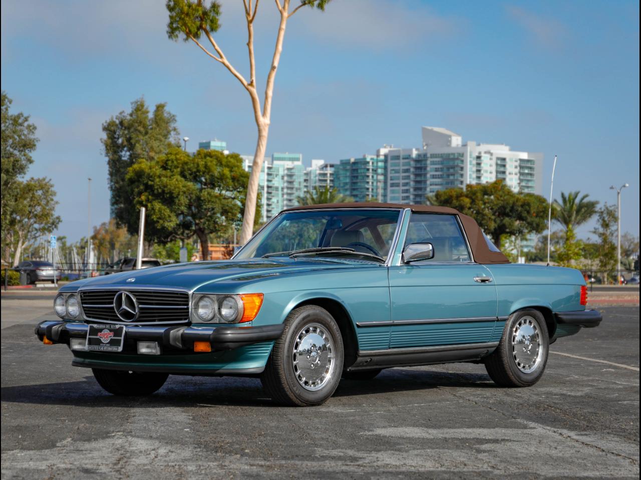 1989 Mercedes-Benz 560 SL Base