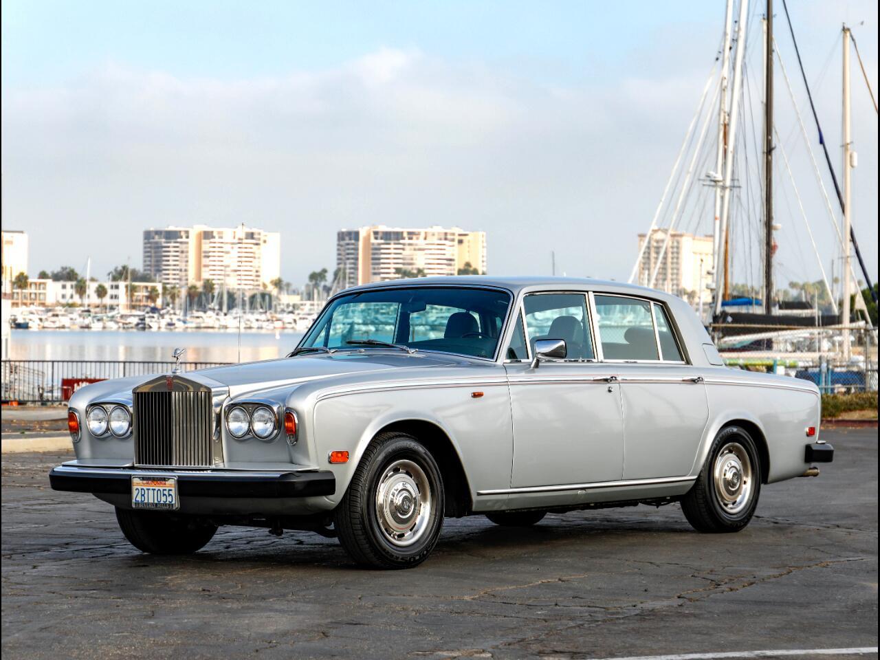 1979 Rolls-Royce Silver Shadow II 75th Anniversary Edition