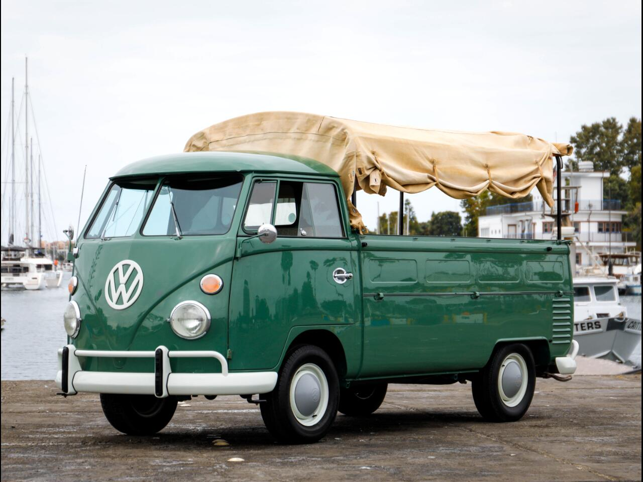 1965 Volkswagen T-2 Transporter Canvas Top