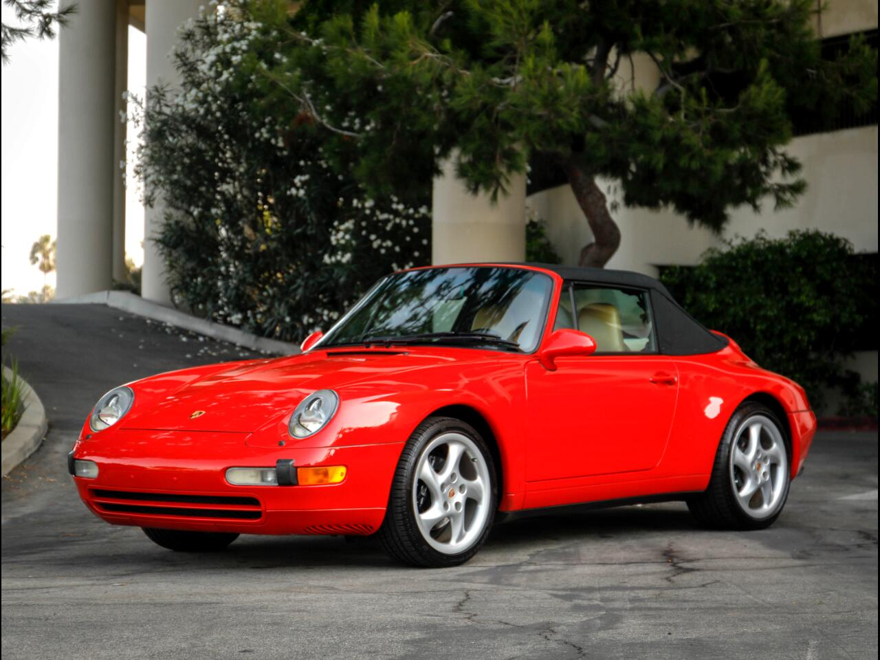 1997 Porsche 911 Carrera 2dr Carrera Cabriolet 6-Spd Manual