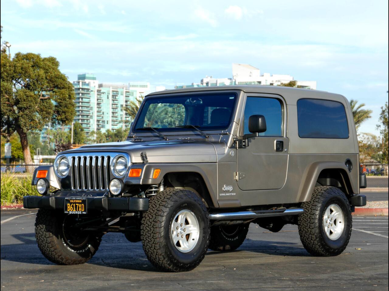 2005 Jeep Wrangler 2dr Unlimited LWB