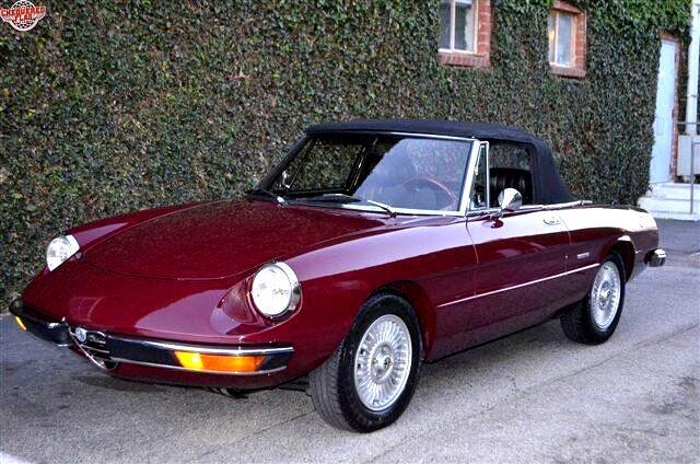 Alfa Romeo Spider V6 Premier 1971