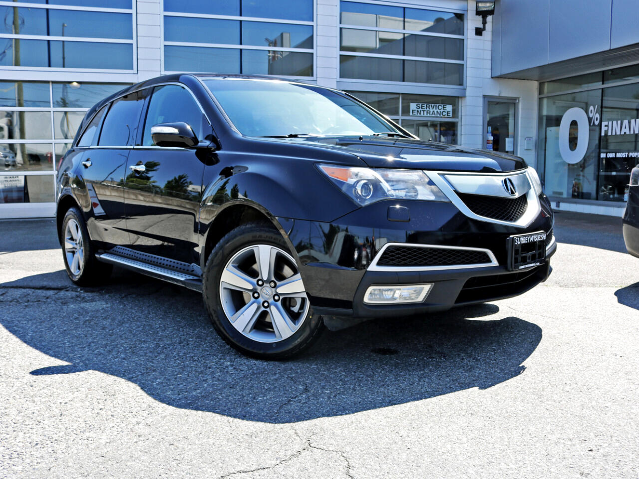 2012 Acura MDX Low KMS SH-AWD Loaded Leather Sunroof 7 Passenger