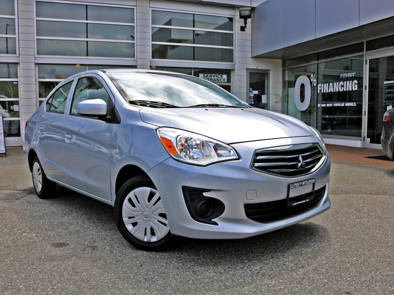 2017 Mitsubishi Mirage G4 LOW KMS BC Car No Accidents CVT Automatic Get a Lo