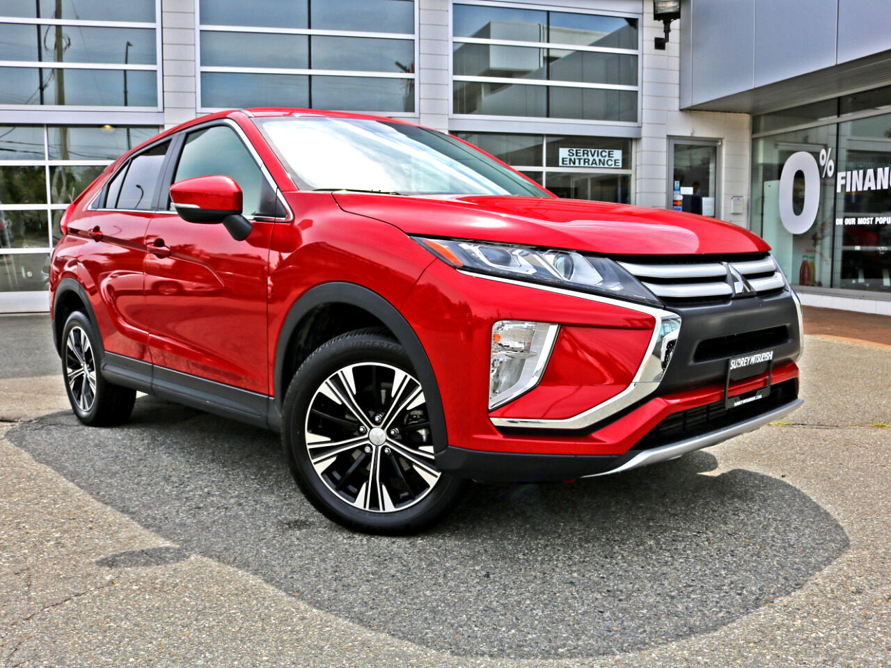 2018 Mitsubishi Eclipse Cross Low KMS AWD BC Car No Accidents Get a Loan Apply O