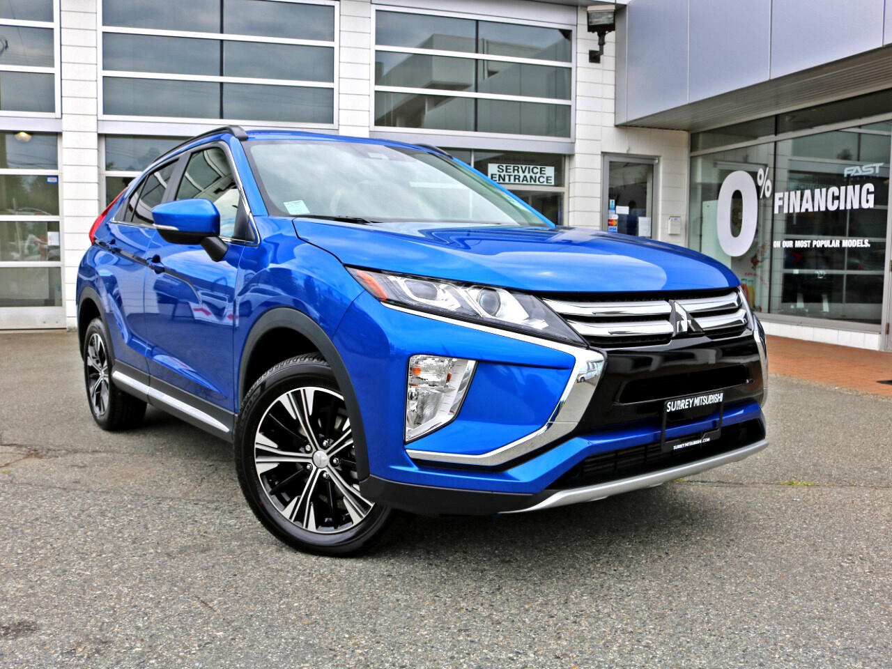 2019 Mitsubishi Eclipse Cross Low Low KMS BC Car No Accidents Sunroof Backup Cam