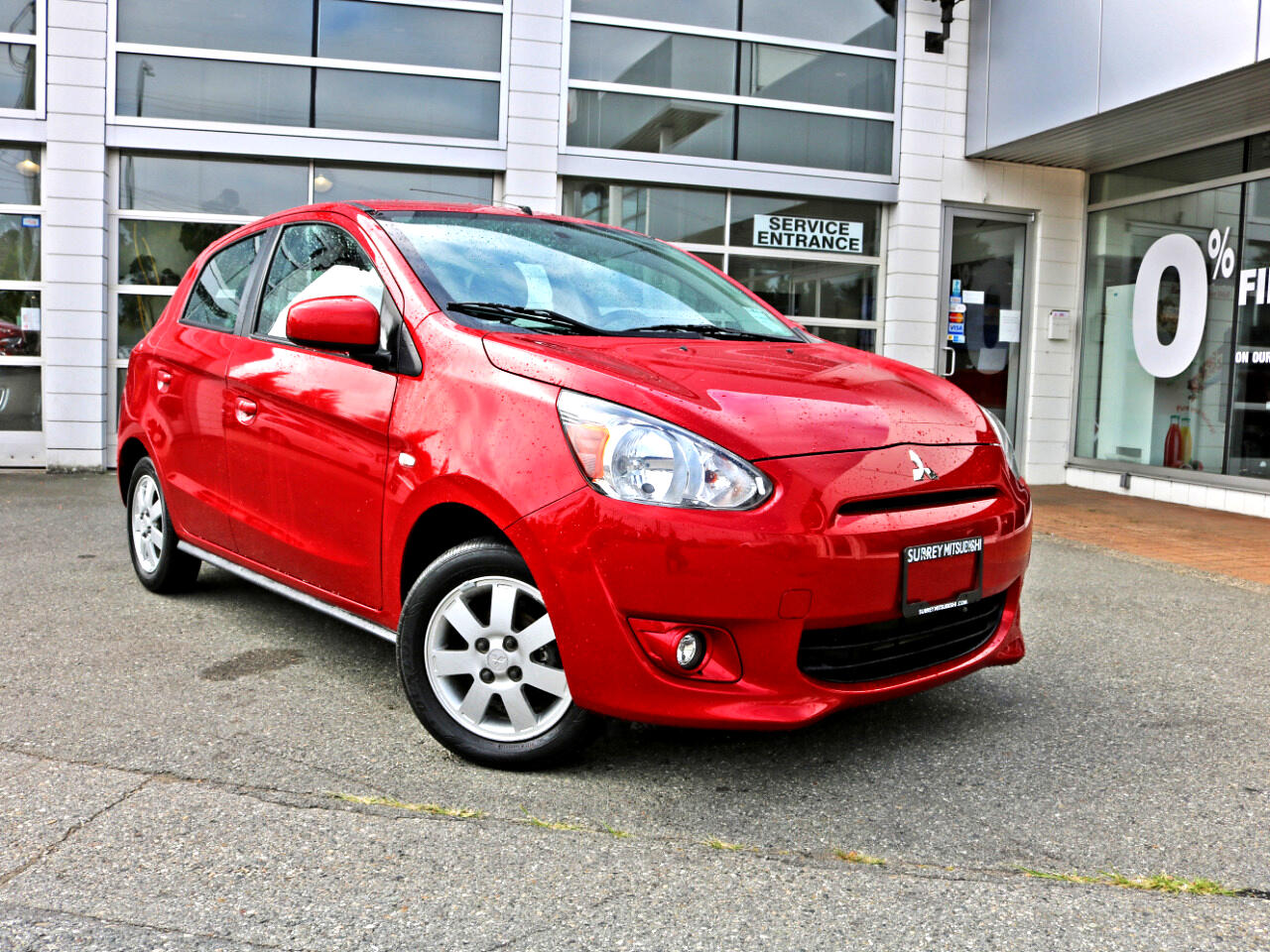 2014 Mitsubishi Mirage Low KMS BC Car Heated Seats In House Loans No Cred