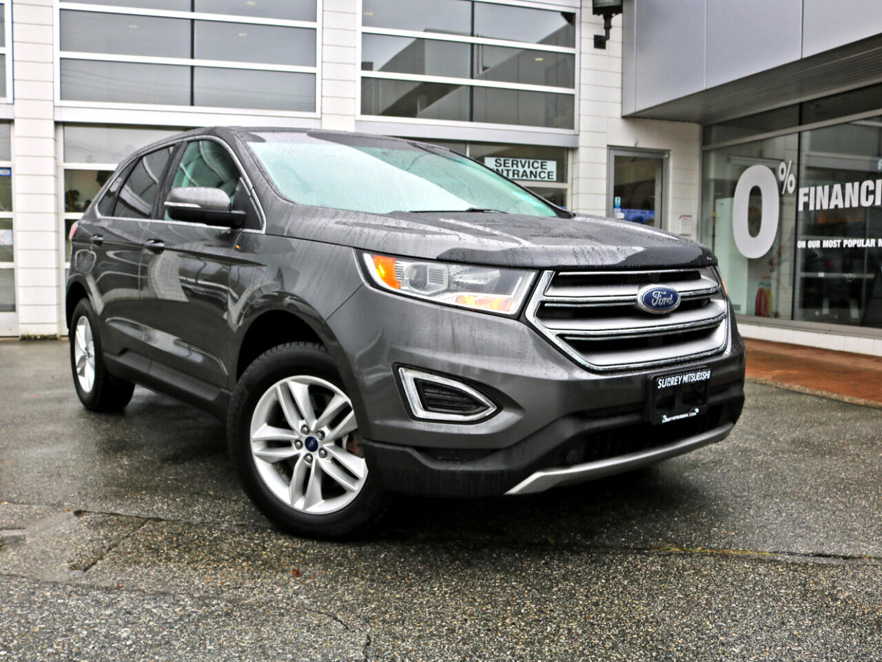 2016 Ford Edge 4dr SEL AWD Back Up Camera local bc low km loaded