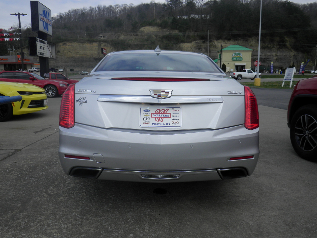 2016 Cadillac CTS Sedan 4dr Sdn 2.0L Turbo Luxury Collection AWD