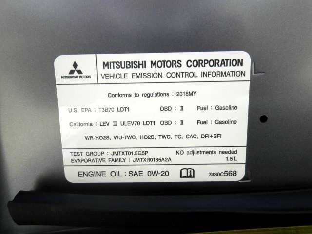 2018 Mitsubishi Eclipse Cross ES S-AWC