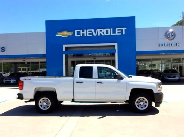 2018 Chevrolet Silverado 1500 4WD Double Cab 143.5