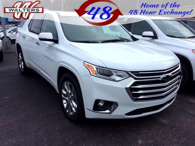 2019 Chevrolet Traverse AWD 4dr High Country w/2LZ