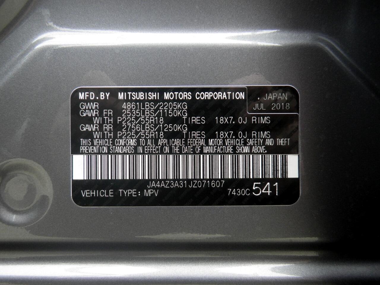 2018 Mitsubishi Outlander ES AWC