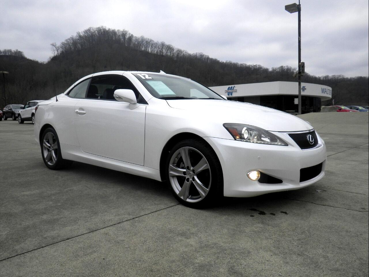 2012 Lexus IS 250C 2dr Conv Man