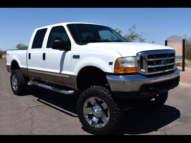 2000 Ford F-250 SD Lariat Crew Cab Short Bed 4WD