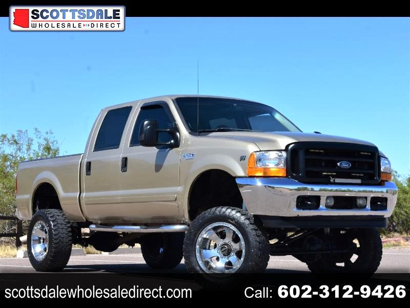 Ford F-250 SD XLT Crew Cab Short Bed 4WD 2001