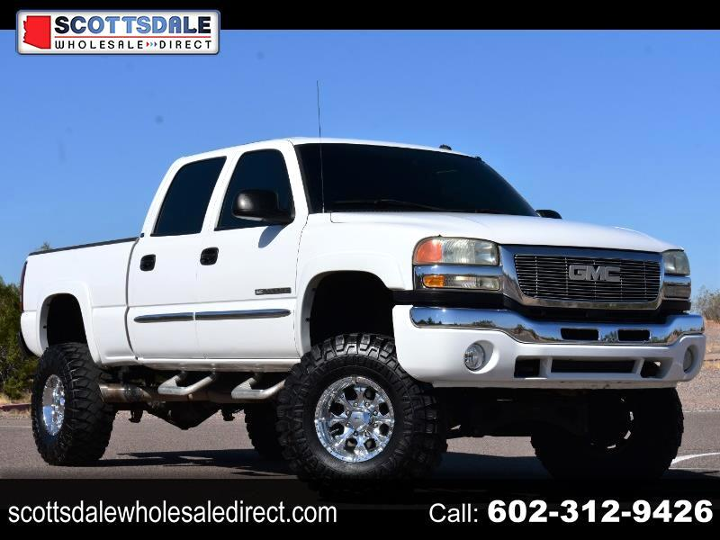 GMC Sierra 2500HD SLE Crew Cab Long Bed 2WD 2003