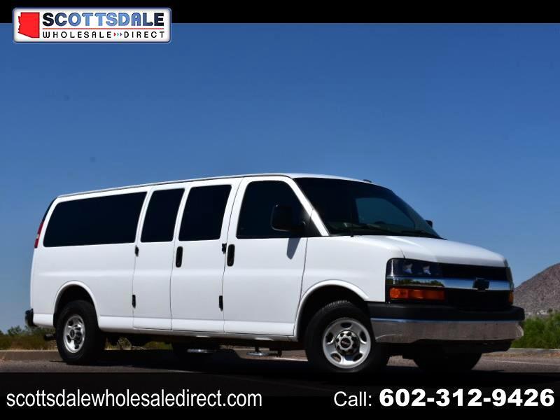 Chevrolet Express LT 3500 Extended 2011